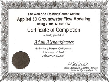 Applied 3D Groundwater Flow Modeling